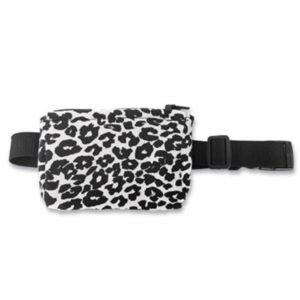 Insulinpumpen-tasche, Bauchtasche für insulinpumpe Leo schwarz weiß