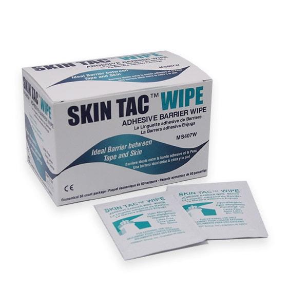 Skin Tac Wipe Barriere zwischen Haut und Pflaster