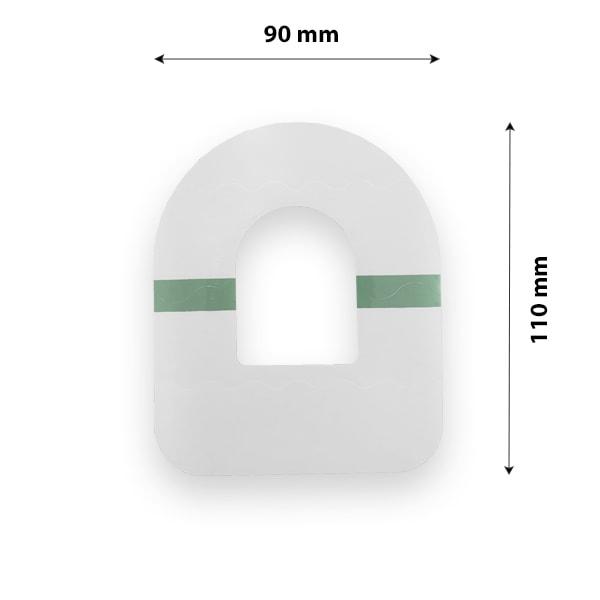 Omnipod Pflaster Fixierung transparent wasserfest