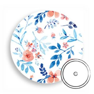 Overpatch rund freestyle Libre pflaster Flowers