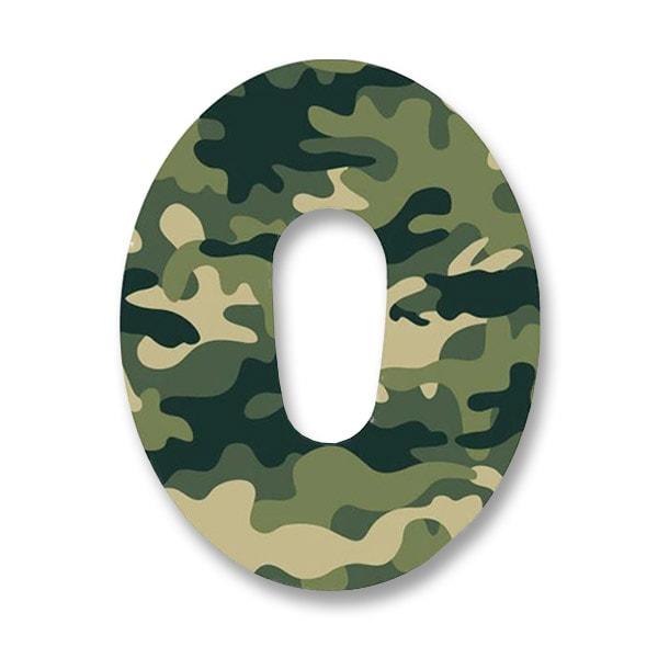 Dexcom G6 Fixierung Pflaster Army CAmouflage