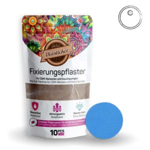 Overpatch rund freestyle Libre 3 pflaster Türkis