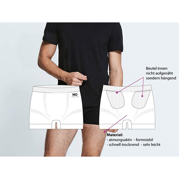 Short mit Tasche für Insulinpumpe MOJO Short Mellitus ONE