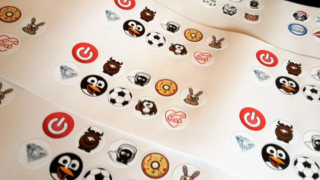 verschiedene Freestyle Libre Sticker